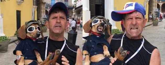 Hond Heeft Een Tering Hekel Aan Erdogan