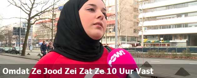 Omdat ze Jood tegen een politieagent zei zat ze 10 uur vast