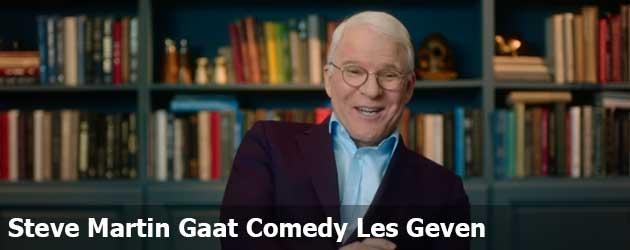 Steve Martin Gaat Comedy Les Geven