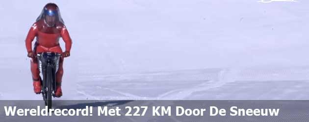 Wereldrecord! Met 227 KM Door De Sneeuw