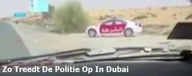 Zo Treedt De Politie Op In Dubai