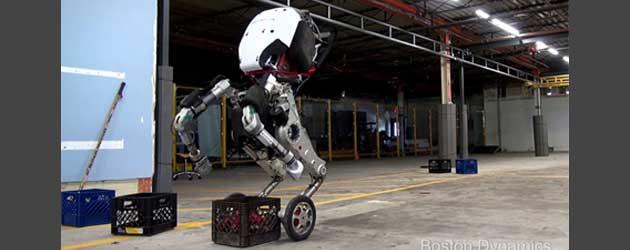 En dit is de nieuwste beestachtige robot van Boston Dynamics