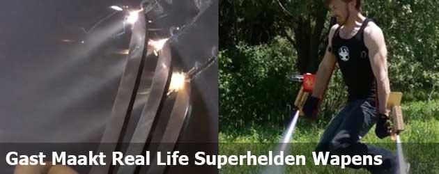 Gast Maakt Indrukwekkende Real Life Superhelden Wapens