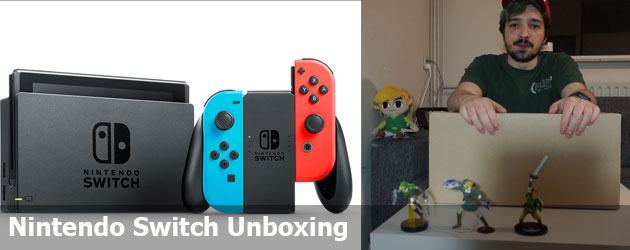 Nintendo Switch Unboxing