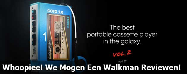 Whoopiee! We Mogen Een Walkman Reviewen!