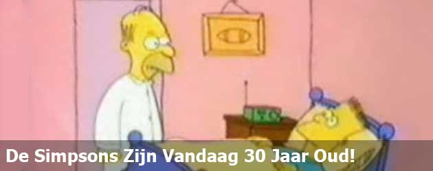 De Simpsons Zijn Vandaag 30 Jaar Oud!