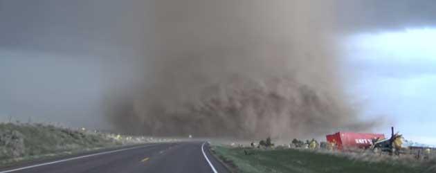 Extreme Tornado Close Up!