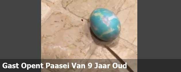 Gast Opent Paasei Van 9 Jaar Oud