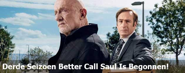 Het Derde Seizoen Better Call Saul Is Begonnen!