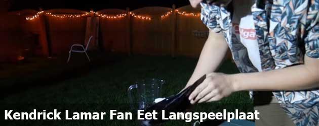 Kendrick Lamar Fan Eet Langspeelplaat