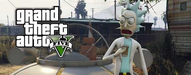 Speel Als Rick Van Rick & Morty In GTA V