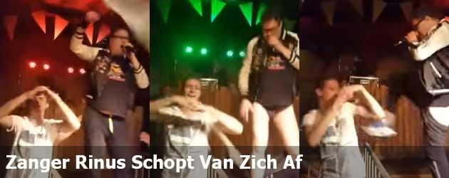 Zanger Rinus Schopt Van Zich Af