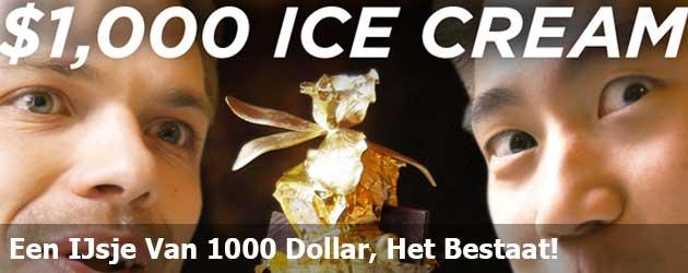 Het Verschil Tussen Een IJsje Van 1 Dollar En 1000 Dollar