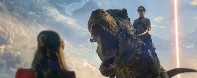 Adolf Hitler Op Dinosaurus Dat Is Echt Raar