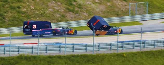 Caravan Racen Met Verstappen En Ricciardo