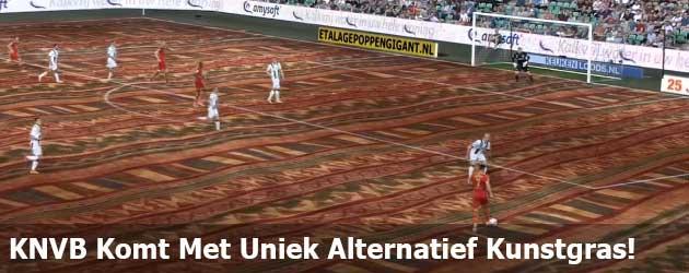 KNVB Komt Met Uniek Alternatief Kunstgras!