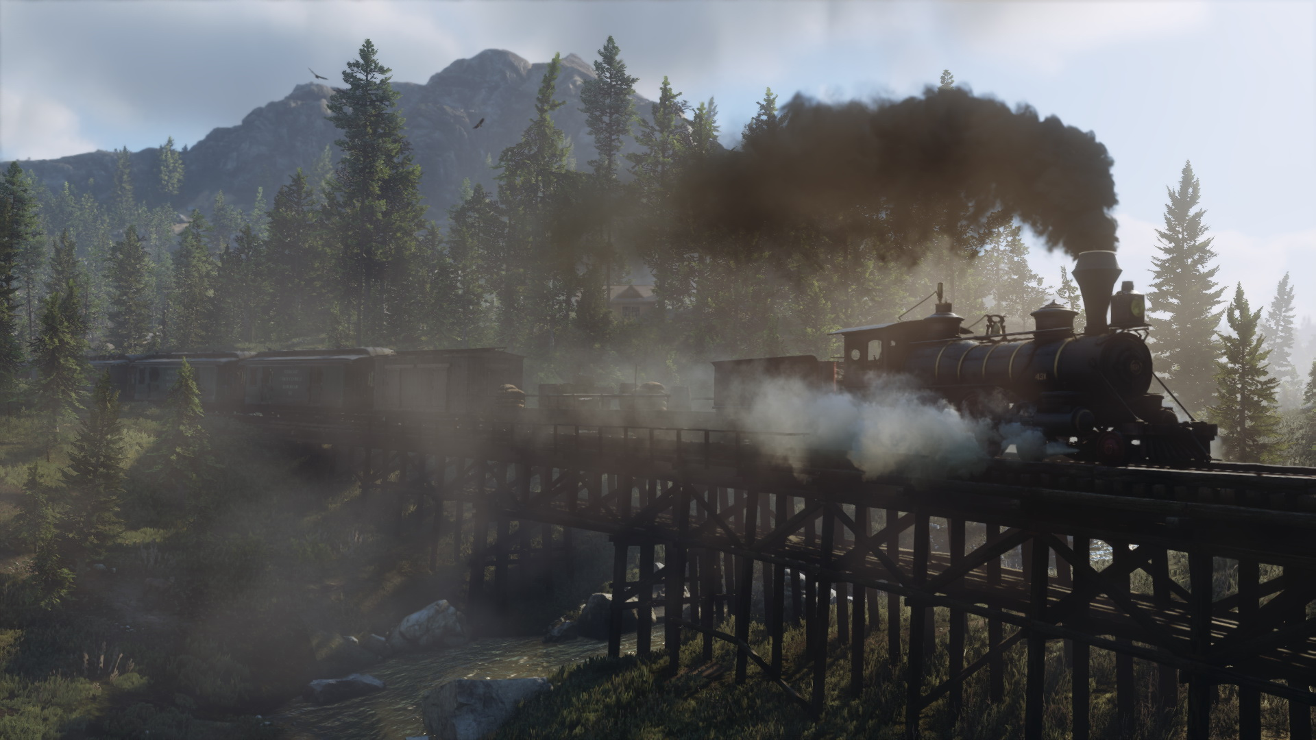Nieuwe Screenshots Red Dead Redemption 2