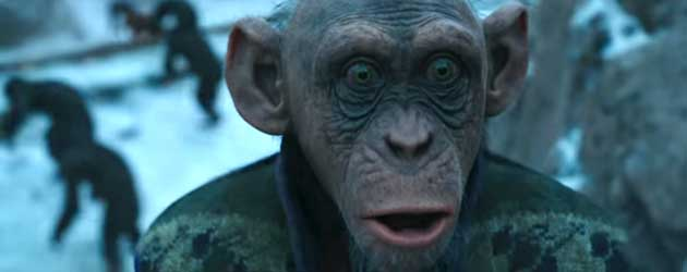 Nieuwe Trailer War For The Planet Of The Apes