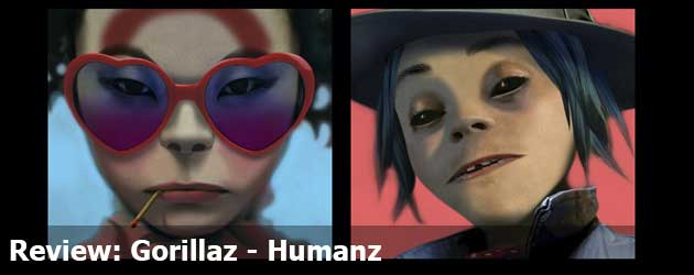 Review: Gorillaz - Humanz
