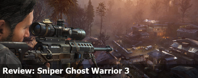 Review Sniper Ghost Warrior 3