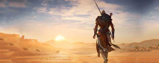 De Onthullingstrailer Van Assassin's Creed Origins