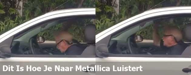 Dit is hoe je naar Metallica luistert
