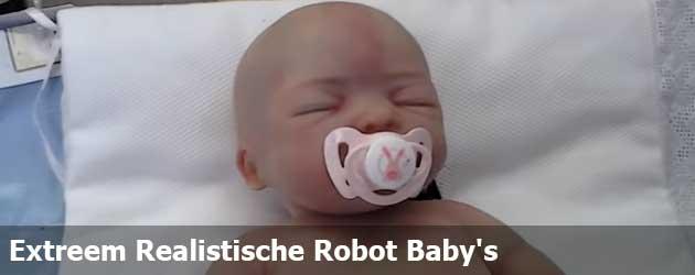 Extreem Realistische Robot Baby's