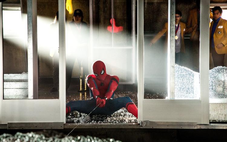 Nieuwe Stills Spider-Man Homecoming