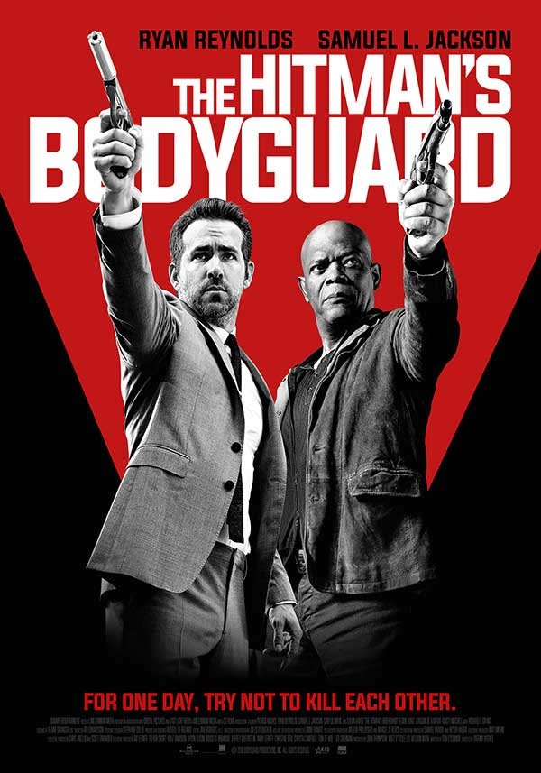 filmposter The Hitman's Bodyguard