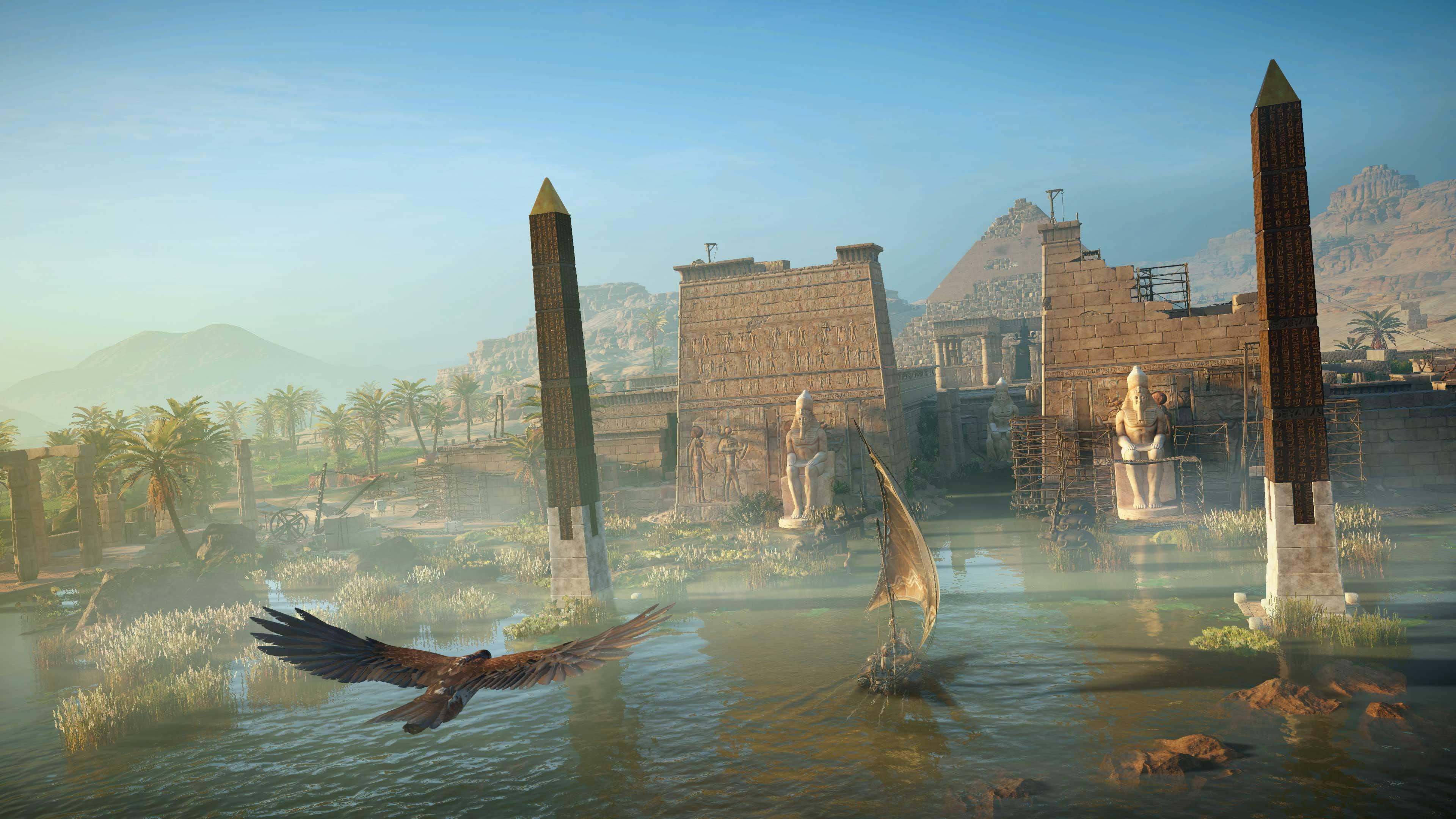 De Onthullingstrailer Van Assassin's Creed Origins