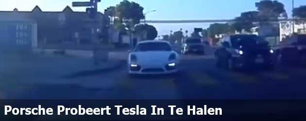 Porsche Probeert Tesla In Te Halen