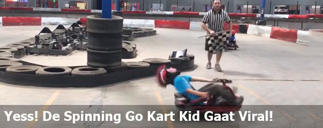Yess! De Spinning Go Kart Kid Gaat Viral! Wat een baas!