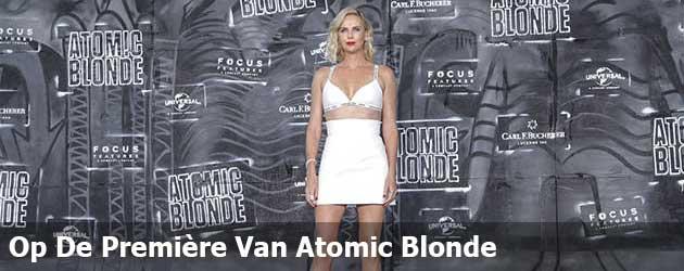 Op De Première Van Atomic Blonde