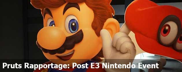 Pruts Rapportage: Post E3 Nintendo Event