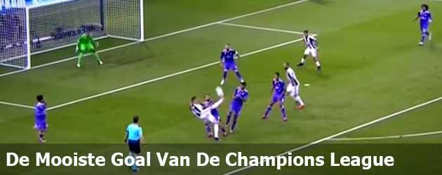 Deze goal is verkozen tot mooiste goal van de Champions League 2016-2017