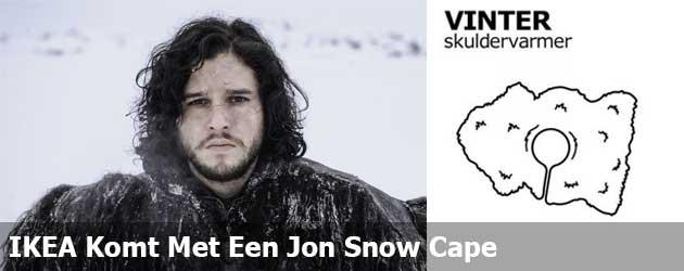 IKEA Komt Met Een Jon Snow Cape