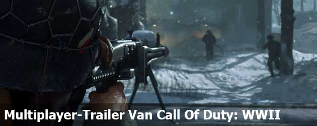 Nieuwe Multiplayer-Trailer Van Call Of Duty: WWII