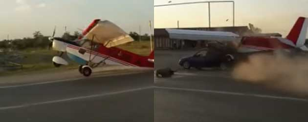 Only In Rusland: Vliegtuig Landt Op Snelweg