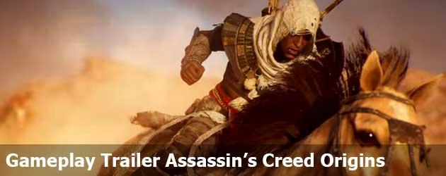 Gameplay Trailer Assassin's Creed Origins