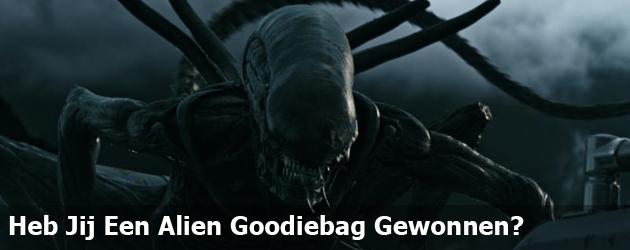 Heb Jij Een Alien Goodiebag Gewonnen?