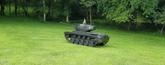 Een Tank Maken Binnen 14 Maanden