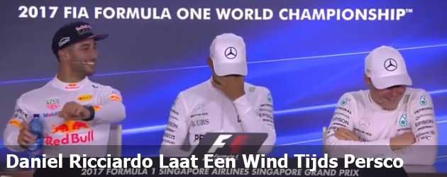 Daniel Ricciardo Laat Een Wind Tijds Persco