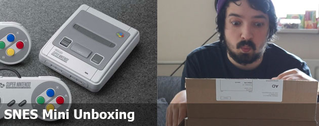 SNES Mini Unboxing