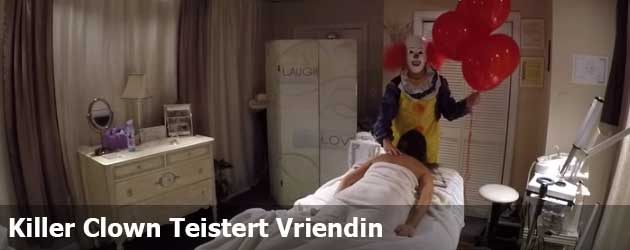 Killer Clown Teistert Vriendin