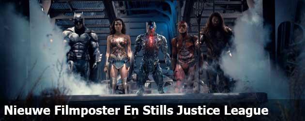 Nieuwe Filmposter En Stills Justice League