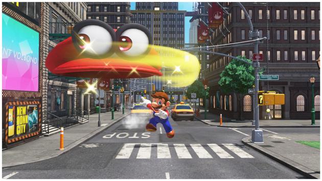 De Man Die Niet Gamen Kan: Mario Odyssey