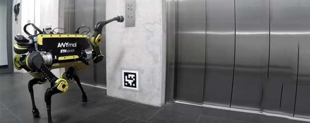 En Dan Nu! Een Robot Die De Lift Neemt!