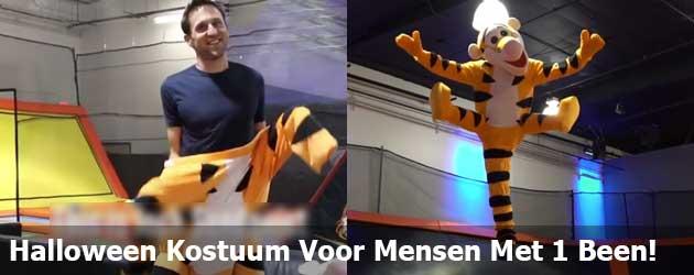 Halloween Kostuum Voor Mensen Met 1 Been!