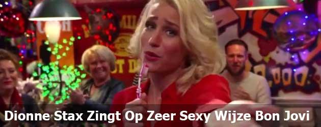 Dionne Stax Zingt Op Zeer Sexy Wijze Bon Jovi