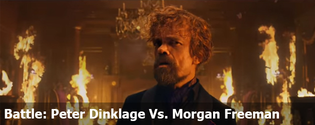 Superbowl Commercial Battle Peter Dinklage Vs. Morgan Freeman